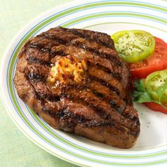 BBQ GRILLING #BBQ #Grilling Rib Eye Steaks with Chipotle Butter