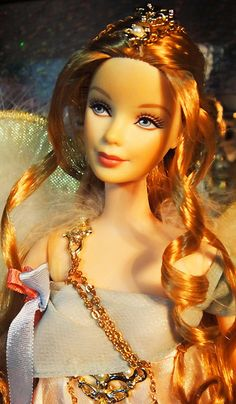Golden Angel Barbie by possiblezen, via Flickr