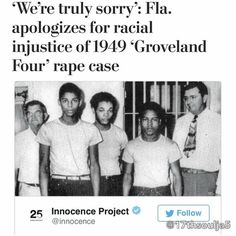 In the summer of 1949 a 17-year-old white girl named #NormaPadgett accused four black men of kidnapping her from a dark road in central #Florida and then in the back seat of their car taking turns raping her.  Neighbors quietly doubted the girls version of events and others speculated that the elaborate detailed account was merely a coverup for the bruises shed collected from her husbands suspected beatings.But this was the era of #JimCrow in the middle of #LakeCounty where the local economy…