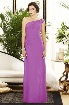 radiant orchid bridesmaid dresses-1