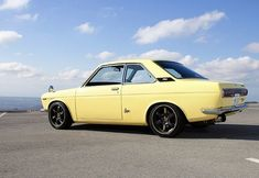 1970 Datsun Bluebird SSS Coupe.  The JDM RHD sibling to the 510.