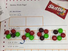 Workshop Wednesday: Edible Math  Food and Candy in Math from Ideas by Jivey 5th Grade Math Games, Fifth Grade Math, Math Fractions, Maths, Multiplying Decimals, Dividing Fractions, Percents, Math Resources, Math Activities
