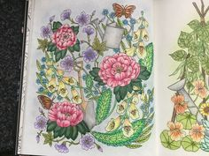 Hennie Smit. Blomster mandala Maria Trolle 28-02-2017