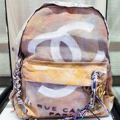 visualvixen:  IG: laromma  Chanel Backpack