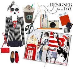 """""""Designer for a Day: She's Got The Look"""" by veronica-sinetti on Polyvore"""