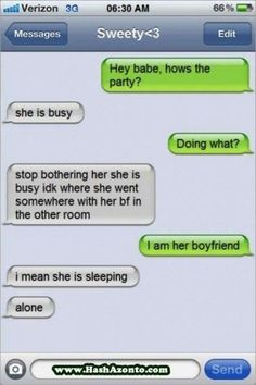 Sweety<3 likes to party too much. | 26 Relationships That Were Obviously Doomed From The Start