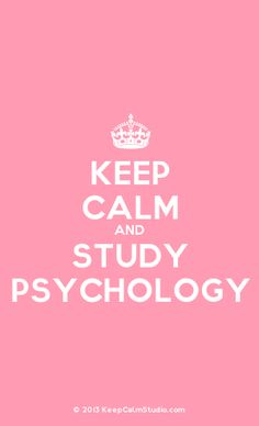 [Crown] Keep Calm And Study Psychology