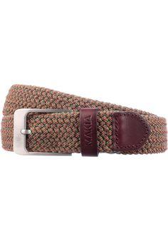 Makia Braided-Canvas, Belt, olive-orange #Belt #AccessoriesMale #titus #titusskateshop