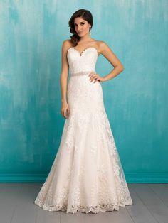 Allure Bridals 9302 // Spring 2016