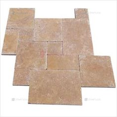 Travertine-marble-Premium - French Pattern Travertine Paver Noce Travertine Pavers, French Pattern, Miami Florida, Marble, Wood, Crafts, Home Decor, Manualidades, Decoration Home
