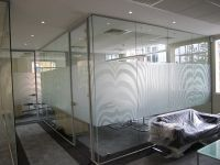 Invicta Install Wild Manifestation... Recently Zebra inspired manifestation fitted by Invicta Window Films to a new office in Guildford Surrey