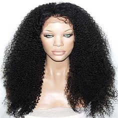 Passion New Arrivel Synthetic Lace Front Wig Heat Resistant Kinky Curly Black Highlights Heavy Density Wig Black *** Check out this great product. (This is an affiliate link) Synthetic Lace Front Wigs, Synthetic Wigs, Remy Human Hair, Human Hair Wigs, Full Lace Front Wigs, Front Lace, Big Curly Hair, Black Highlights, Best Wigs