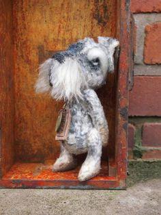 Basil Half Penny the miniature schnauzer by Padgatebears