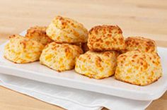 These easy-to-make biscuits are perfect for either a Springtime brunch or casual weeknight dinner.  Just follow the step-by-step directions on how to make these fresh-from-the-oven Cheddar biscuits just like the pros.  You'll find these no-roll biscuits are so simple to make that they'll be ready even before the oven is preheated!