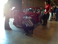 Technical check for the 500 B driven by Schade and Faber. Fiat, Vehicles, Check, Rolling Stock, Vehicle, Tools