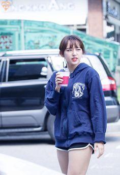 Cheng Xiao Cute Korean, Korean Girl, Asian Girl, Sketch Poses, Air Force Blue, Cheng Xiao, Thunder Thighs, Cosmic Girls, Workout Wear
