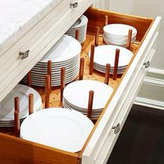 Looking for some Really Stylish DIY Kitchen Organizing Ideas.then you are in the right place today! Check out these 7 Incredible and Fabulous DIY Ideas! Kitchen Storage Solutions, Kitchen Cabinet Storage, Kitchen Drawers, Storage Cabinets, Kitchen Cabinets, Kitchen Pegboard, Kitchen Organizers, Kitchen Labels, Kitchen Worktops