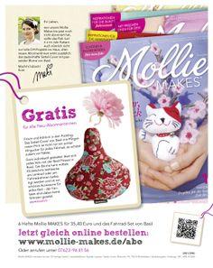 Die sympathische Redakteurin Maki empfiehlt ihren Leserinnen das Mollie MAKES-Abo. Neuentwicklung der Abowerbung für die #Zeitschrift Mollie MAKES aus dem OZ-Verlag: #Werbemittel 1/1-Abo-Anzeige, Heftwerbung, Angebot: #Jahresabo mit Prämie, #Response-Aktivierung über Deeplink und QR-Code  I © Montana Medien, Hamburg - Februar 2014 I Bestellen Sie #MollieMakes unter: www.mollie-makes.de/abo  #Direktmarketing, #Print, #Verlage, #CRM, #Dialogmarketing, #Abonnement, #Abomarketing, #Aboanzeige…