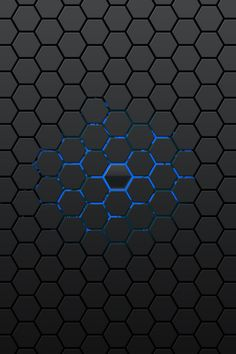hexagon pattern - Google Search Motif Hexagonal, Hexagon Pattern, Pattern Design, Black Wallpaper Iphone, Wallpaper Backgrounds, Wallpaper Samsung, 3d Texture, Texture Design, Texture Mapping