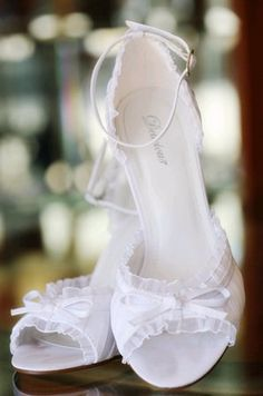 love these! they are perfect for a bridal shoe. For more great ideas and information about our venues visit our website www.tidewaterweddings.com or give us a call 443 786 7220