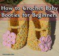How to Crochet Baby Booties for Beginners