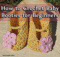 How to Crochet Baby Booties for Beginners