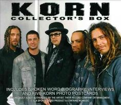 """Recording information: Echo Base, New Malden, Surrey. Reader: Sin Jones. While most """"collector's sets"""" tend to be bundles of albums, Korn's Collector's Box is an audio biography of the band. Spread ou"""