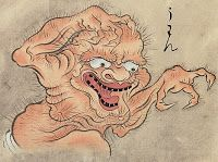 Potato Weather: SOME MONSTERS (2) : A JAPANESE DEMON