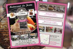 Flyer A6 Recto Verso V2 - La Ferme Restaurant Angers