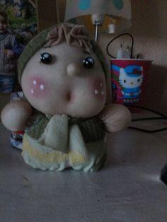 muñeco papos con medias