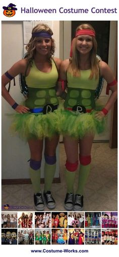 Ninja Turtles - tons of DIY costume ideas for groups!
