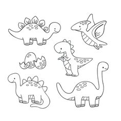 Coloring sheet, 80 Best Free Graphics on Freepik Dinosaur Coloring Pages, Colouring Pages, Coloring Sheets, Coloring Books, Doodle Drawings, Cartoon Drawings, Easy Drawings, Cartoon Dinosaur, Cute Dinosaur