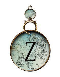 Alfabeto antiguo redondo....Z