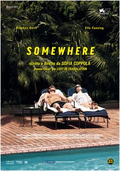 To know more about Sofia Coppola somewhere, visit Sumally, a social network that gathers together all the wanted things in the world! Featuring over 82 other Sofia Coppola items too! Film Poster Design, Poster Art, Graphic Design Posters, Typography Design, Elle Fanning, Graphisches Design, Layout Design, Film Inspiration, Graphic Design Inspiration