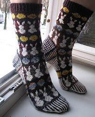 Ravelry: Night of the Lepus pattern by Cambria Washington: Knitware & Patterns