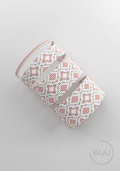 Loom Bracelet Patterns, Bead Loom Bracelets, Bead Loom Patterns, Jewelry Patterns, Stitch Patterns, Bead Loom Designs, Diy Crafts Jewelry, Tear, Bead Weaving