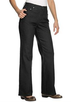 Jean, stretch, bootcut, 5-pocket styling #plussize Jeans from #womanwithin