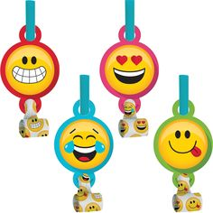 Show Your Emojions 5 1/4 x 2 1/2 Blowout with Medallion/Case of 48 https://www.ktsupply.com/products/32786351030/Show-Your-Emojions-5-14-x-2-12-Blowout-with-MedallionCase-of-48.html