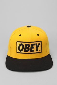 OBEY Logo Cap  #UrbanOutfitters
