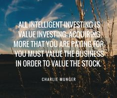 Charlie Munger is right on point!