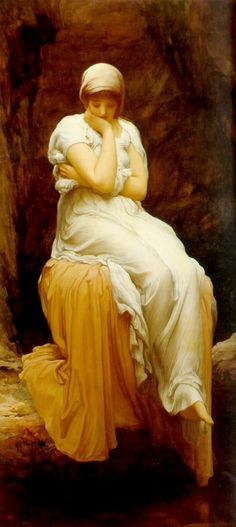 Lord Frederick Leighton Solitude Painting