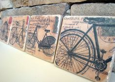 Cute, manly coasters!