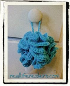Crocheted Bath Puff and Pattern!