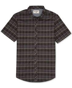 Billabong Men's Roadhouse Plaid Short-Sleeve Shirt
