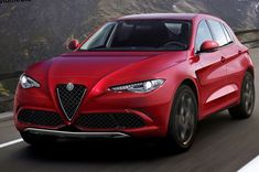 Alfa Romeo rumoured to launch its first-ever SUV, Stelvio, at the Los Angeles Auto Show in november 2016