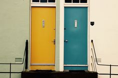 Doors in North Berwick.