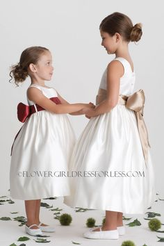 1ddd696f34f Us Angels Flower Girl Dress- Style 702- Build Your Own Dress