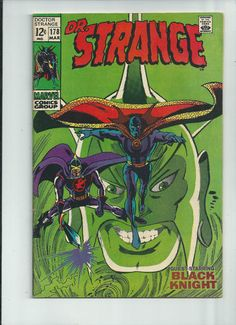 DR STRANGE #178 Silver Age gem with great cover by Gene Colan! GRADE 8.0 http://r.ebay.com/ZjOCqc