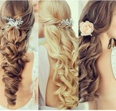 Peinados De Fiesta On Pinterest Quinceanera Hairstyles Half Updo And Google
