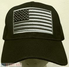 Tactical military special forces operator america patch usa flag cap hat  black 9eeae84a9179